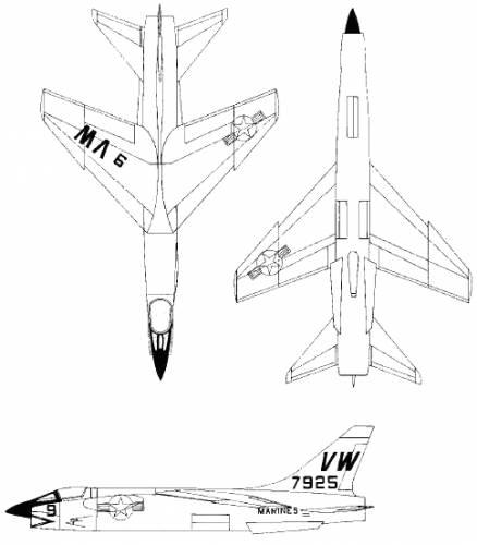 Vought F-8U Crusader