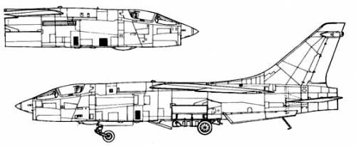 Vought RF-8 Crusader