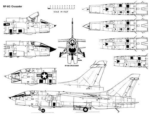 Vought RF-8G Crusaider