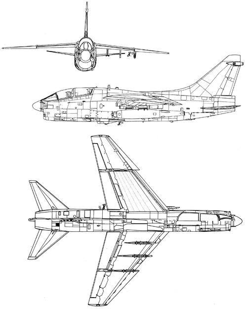Vought TA-7C Corsair II