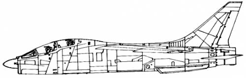 Vought TF-8 Crusader