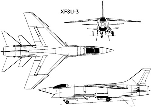 Vought XF8U-3 Crusader III