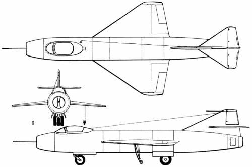 Yakovlev Yak-1000 (Russia) (1951)