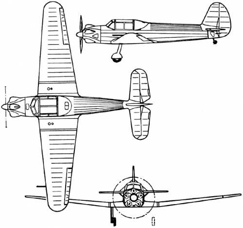 Yakovlev Yak-13 (Russia) (1945)