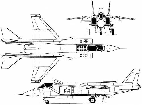 Yakovlev Yak-141 (Russia) (1989)