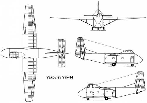 Yakovlev Yak-14 (Mare)