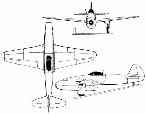 Yakovlev Yak-15 (Russia) (1946)
