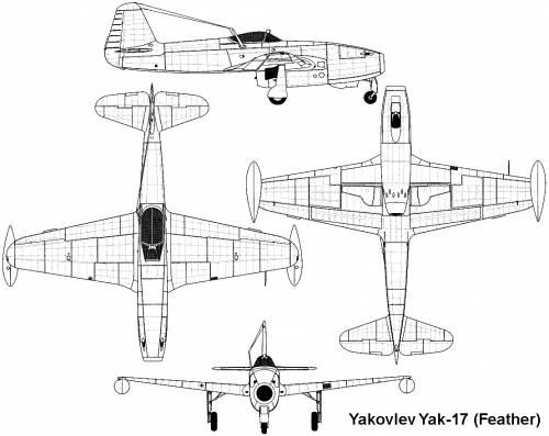 Yakovlev Yak-17 (Feather)