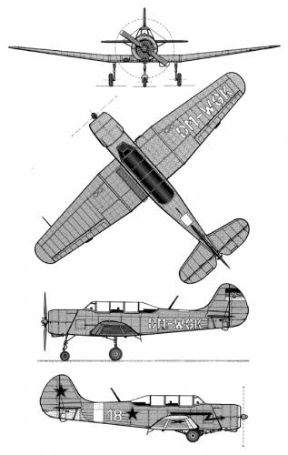Yakovlev Yak 18 A