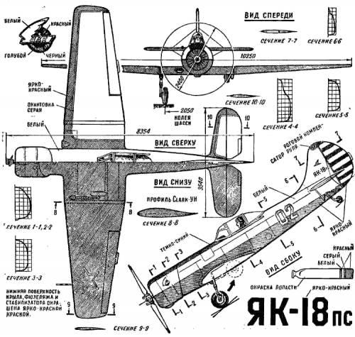 Yakovlev Yak-18 PS