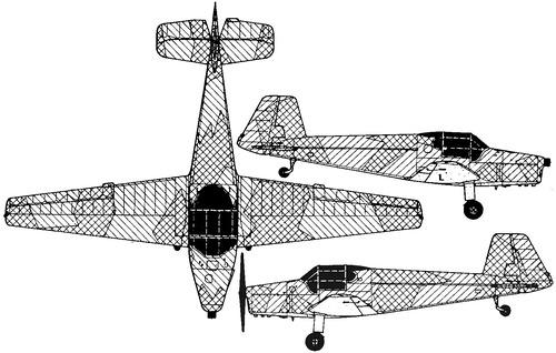 Zlin Z-181 (Bucker Bu 181 Bestman)