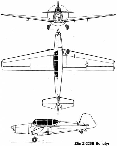 Zlin Z-226B Bohatyr