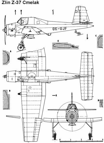 Zlin Z-37 Cmelak