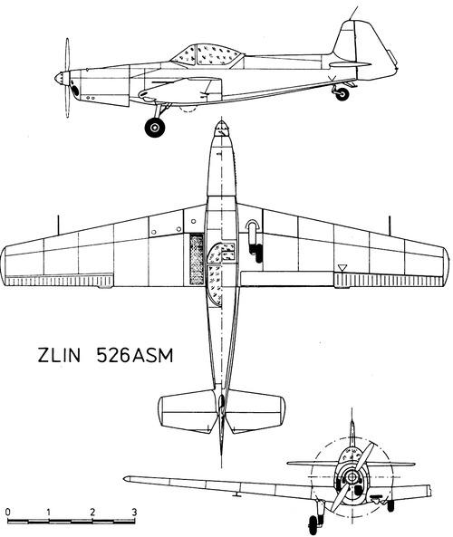 Zlin Z-526ASM