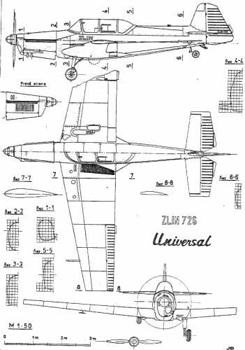 Zlin Z-726 Universal