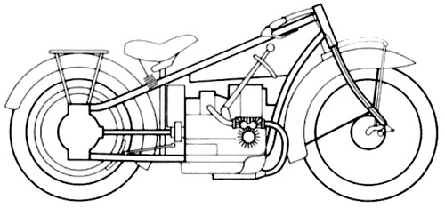Blueprints Gt Motorcycles Gt Bmw Gt Bmw R32 1923