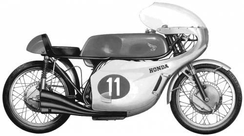 Honda 250 GP Racer (1966)