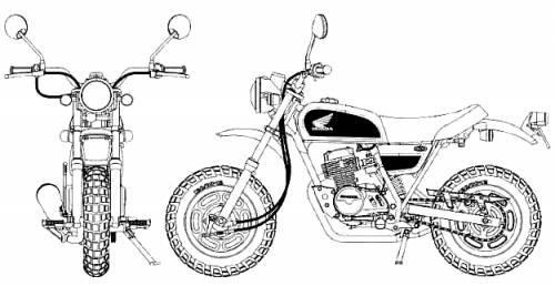 Honda Ape 50 Deluxe
