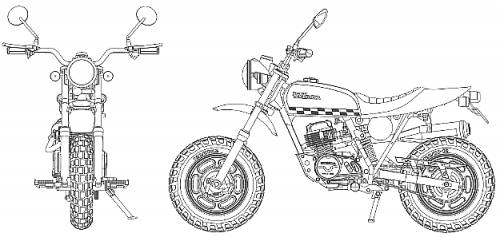 Honda Ape 50 Takegawa