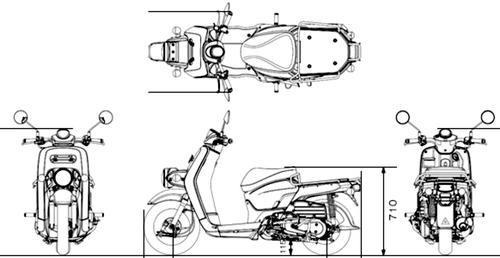 Honda Benly 110 (2015)