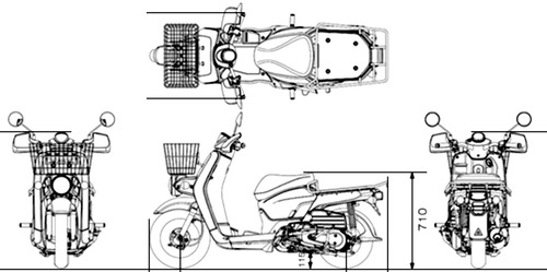 Honda Benly 110 Pro (2015)