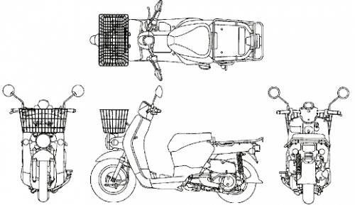 Honda Benly Pro (2013)