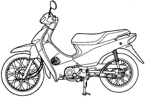 Honda BIZ C100 (2006)