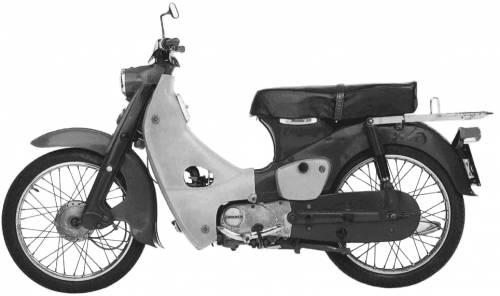 Honda CA100 SuperCub (1963)