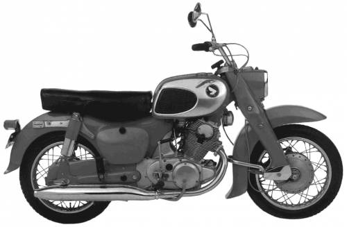 Honda CA72 Dream (1967)
