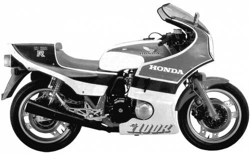 Honda CB1100R (1983)