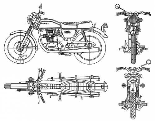 Honda CB125 JX (1972)