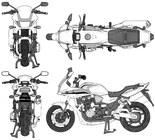 Honda CB1300 Super Bol D'Or