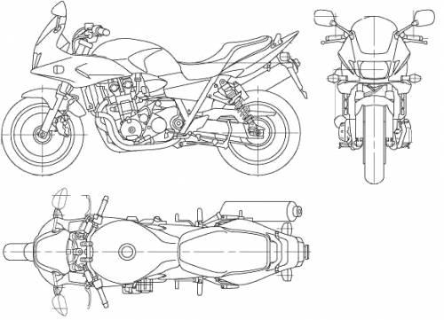 Honda CB1300 Super Bol DOr (2006)