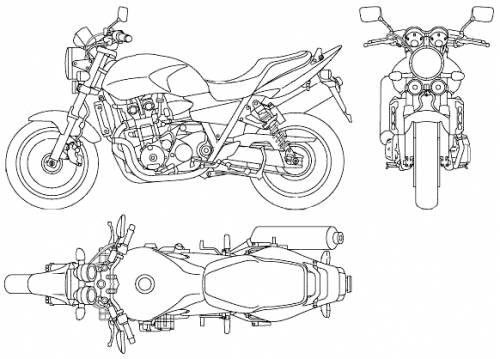 Honda CB1300 Super Four (2007)