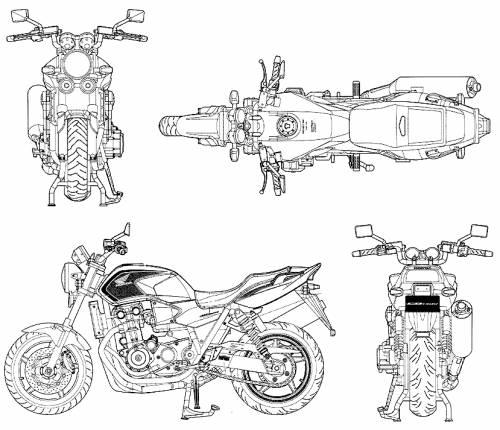 Honda CB1300 Super Four (2010)