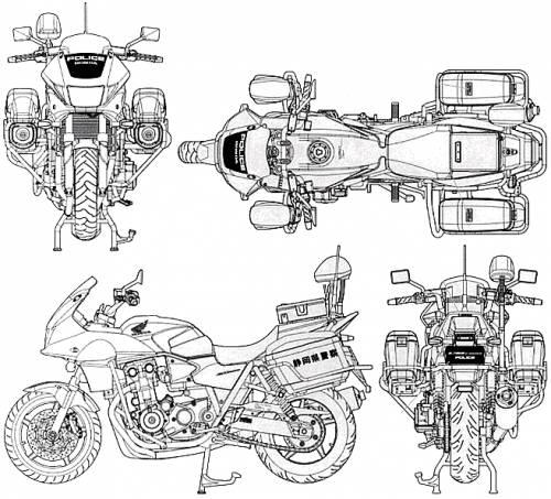 Honda CB1300P