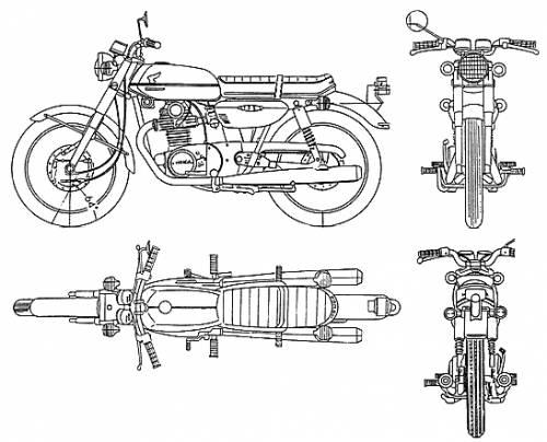 Honda CB135 (1970)
