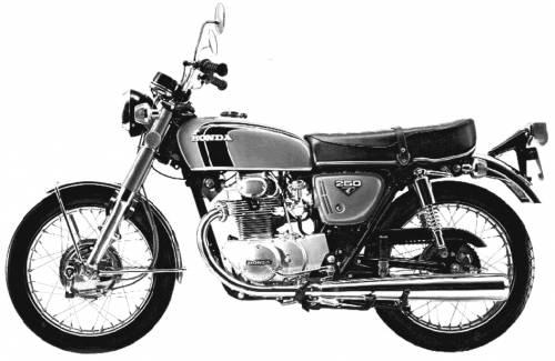 Honda CB250SS (1973)