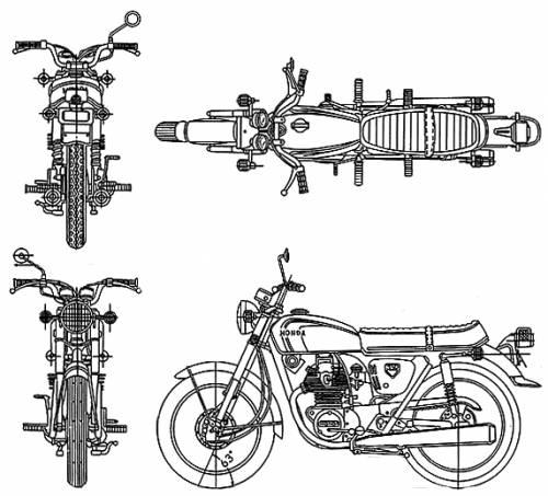 Honda CB350 (1970)