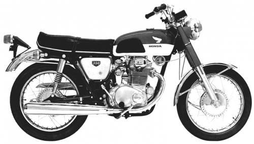 Honda CB350 SuperSport (1968)
