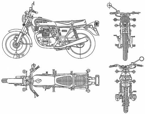 Honda CB360 T (1973)