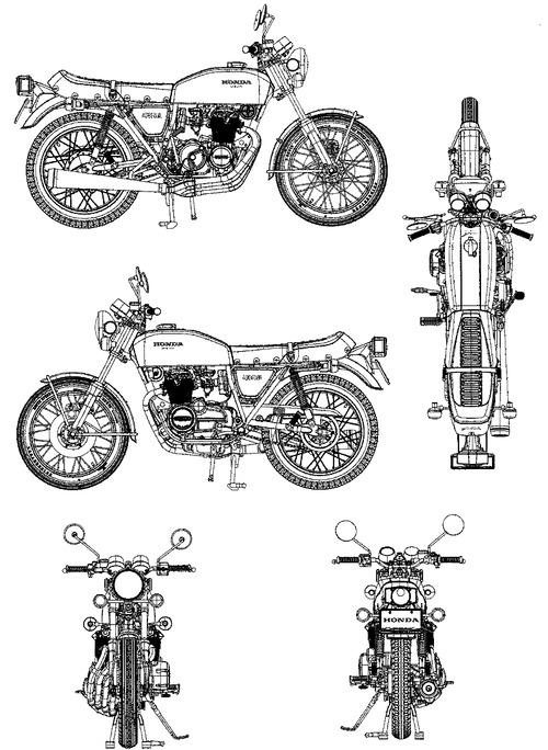 Honda CB400 Four (1974)