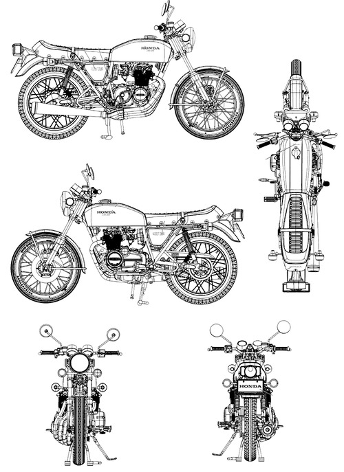 Honda CB400 Four-I (1976)