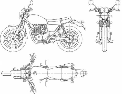 Honda CB400 SS (2006)