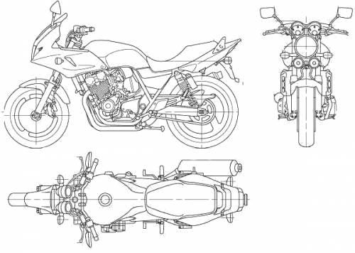 Honda CB400 Super Bol DOr (2006)