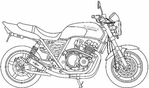 Honda CB400 Super Four Moriwaki