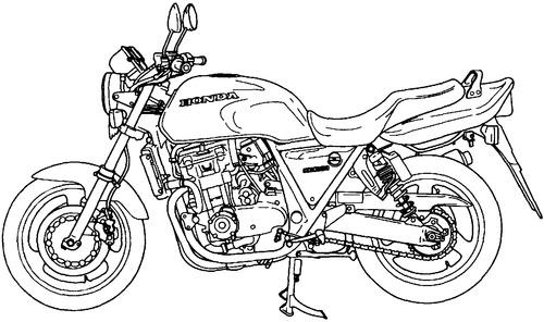 Honda CB 1000 (1994)