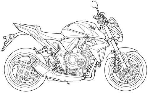 Honda CB 1000R (2008)
