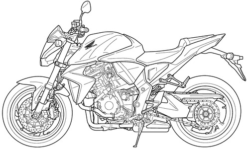 Honda CB 1000RA (2008)