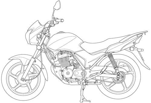 Honda CB 125E (2012)
